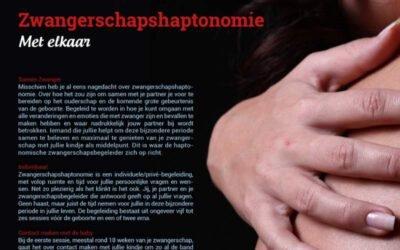 Zwangerschapshaptonomie: met elkaar